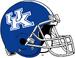 NCAA-SEC-UK Wildcats Helmet-Blue White Stripe