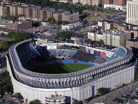 Yankee Stadium aerial from Blackhawk