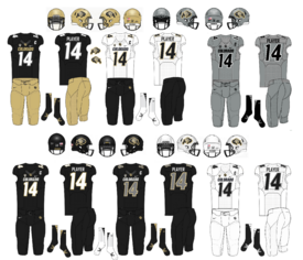 NCAA-Colorado Buffaloes Uniforms