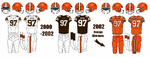 2000-2002 Cleveland Browns Jerseys