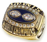 Super Bowl 25 Ring