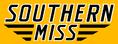 Southern Miss Script Logo gold
