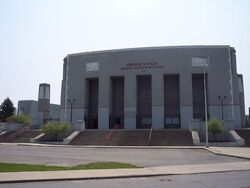 War Memorial Stadium Rockpile