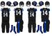 NCAA-SEC-UK Wildcats Black Alternate Uniforms