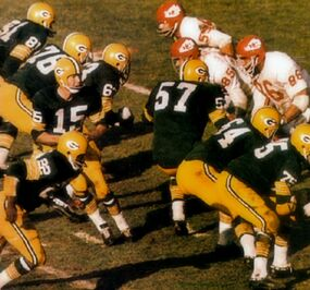 Green Bay Packers-KC Chiefs-Super Bowl I - Bart Starr 1967