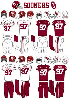 NCAA-Big 12-Uniform-Oklahoma Sooners