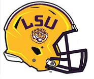 LSU Tigers Helmet Logo - NCAA Division I