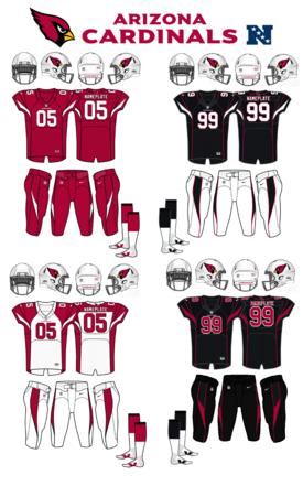 NFL-NFCW-ARI Jerseys