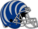 NCAA-AAC-Memphis Tigers blue bengal Striped helmet