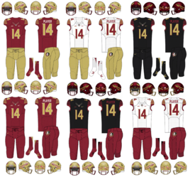 NCAA-ACC-Uniform-FSU Seminoles Uniforms