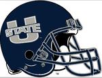 NCAA-MWC-Utah state aggies-helmet-blue