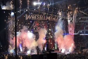 WrestleMania XXV - Stage