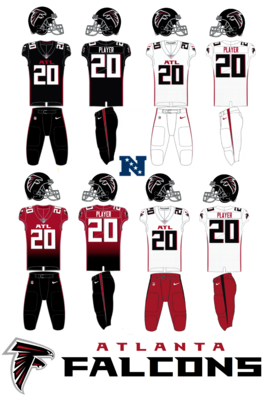 NFL-NFCS-2020 Atlanta Falcons Jerseys