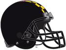 NCAA-Big 10-Maryland Terrapins Black helmet