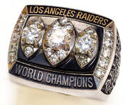 Super Bowl 18 Ring