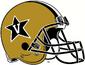NCAA-ACC-Vanderbilt Commodores helmet