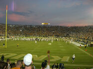 Texas at UCF game over