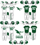 NFL-NFC-1969 PHI Eagles Jerseys