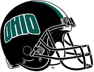 NCAA-MAC-Ohio Bobcats black helmet