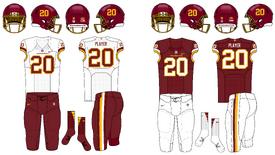 NFL-NFCE-Washington Football Team 2020 Jerseys