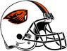 NCAA-PAC12-Oregon State Beavers helmet-white