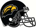 NCAA-USA-Southern MIss Black mascot logo alternate helmet