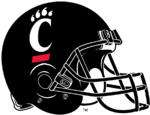 NCAA-AAC-Cincinnati Bearcats Helmet - Left side