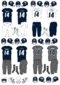 NCAA-C-USA-Rice Owls football uniforms