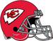 NFL-AFL-AFC-KC-Chiefs Retro 1963-71 Helmet