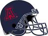 NCAA-Pac-12-2017 Arizona Wildcats blue helmet