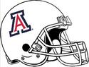 NCAA-Pac-12-2017 Arizona Wildcats white helmet