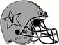 NCAA-ACC-Vanderbilt Commodores All Silver Anchor Down helmet