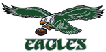 NFL-NFC-1974-95 PHI Eagles logo & Script