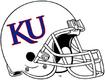 NCAA-Big 12-Kansas Jayhawks White helmet