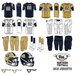NCAA-2016 Pitt Panthers Jerseys