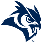Rice Owls mascot head logo