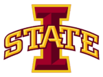 NCAA-Big 12-Iowa State cyclones logo