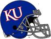 NCAA-Big 12-Kansas Jayhawks Blue helmet