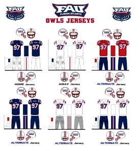 NCAA-FAU Owls-Uniform