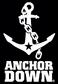 Anchor Down Black logo