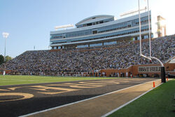 BBT Field Deacon Tower Wake Forest University football stadium
