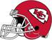 NFL-AFC-KC-Chiefs Helmet Right Side