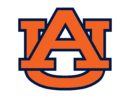 Auburn Tigers Alternate Orange AU Logo 2