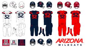 NCAA-2017 Pac-12-Arizona Wildcats uniforms
