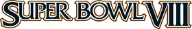 Super Bowl VIII Logo