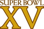 Super Bowl XV Logo