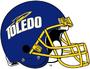 NCAA-MAC-Toledo Rockets-Helmet-1997
