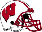 NCAA-Big 10-Wisconsin Badgers Helmet