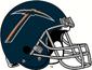 NCAA-C-USA-UTEP Miners Blue Alt Helmet