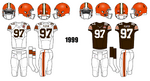 1999 Cleveland Browns Jerseys